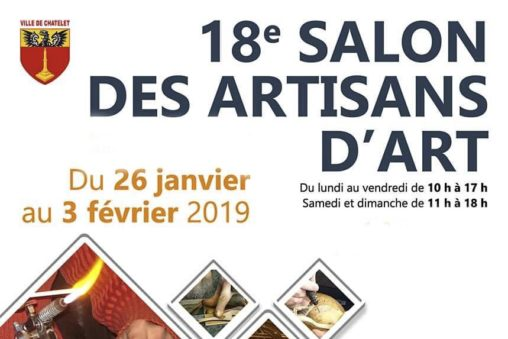 Exposition Salon art Chatelet fevrier 2019