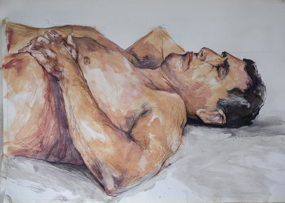 Iorgu, acrylique, 100x70, 2019