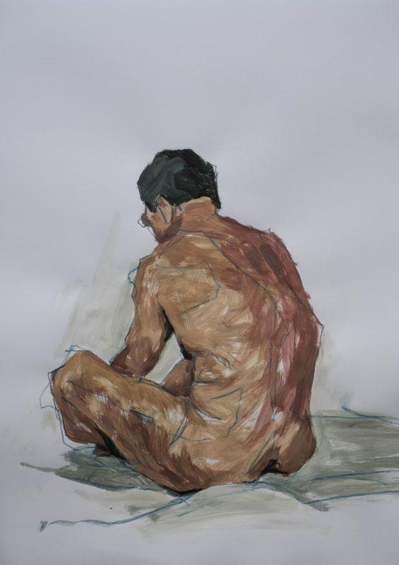 Iorgu, acrylique, 65x50