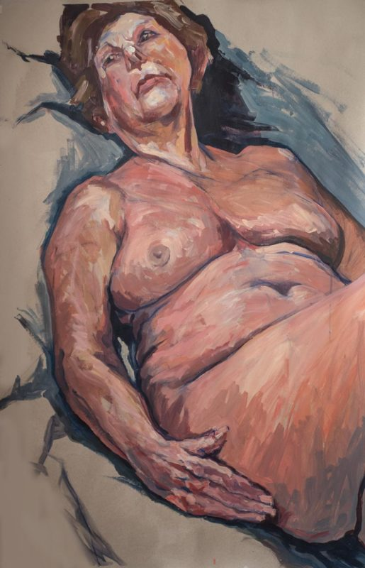 Michel Titeux, Marie-France, Acrylique, 120x80, 2020