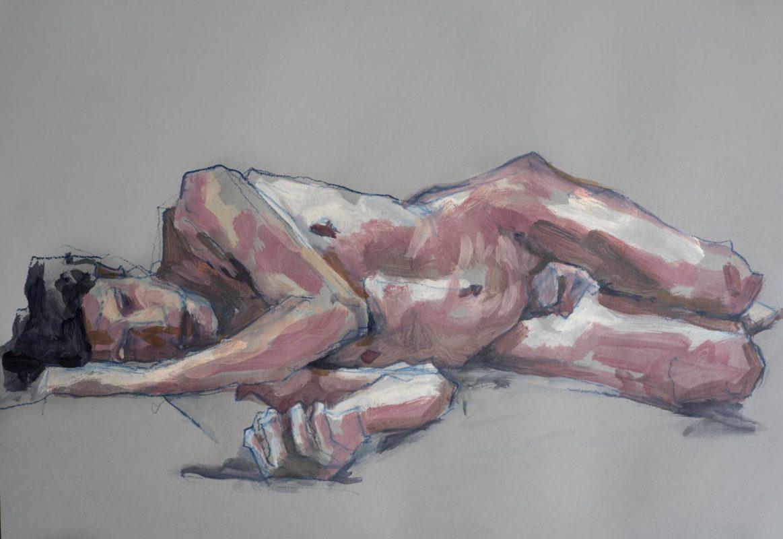 Sebastien, acrylique, A2, 2018