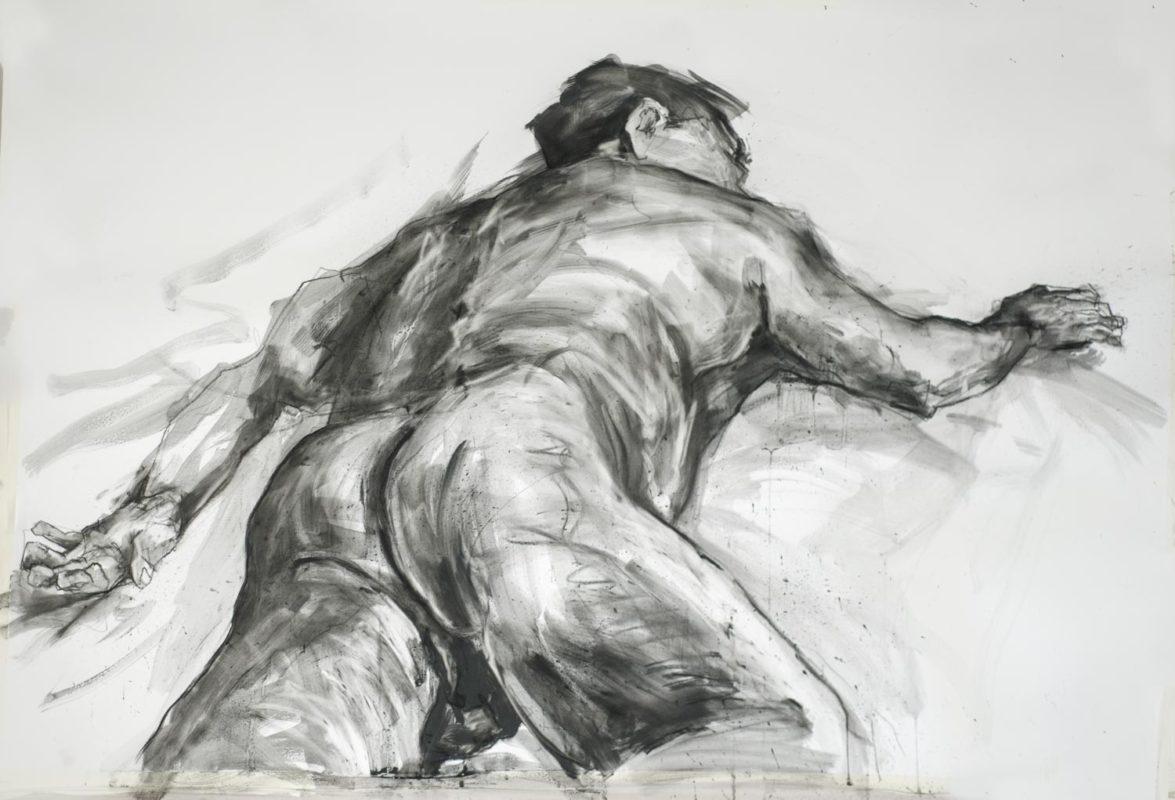Iorgu, fusain, 150x10, 2019