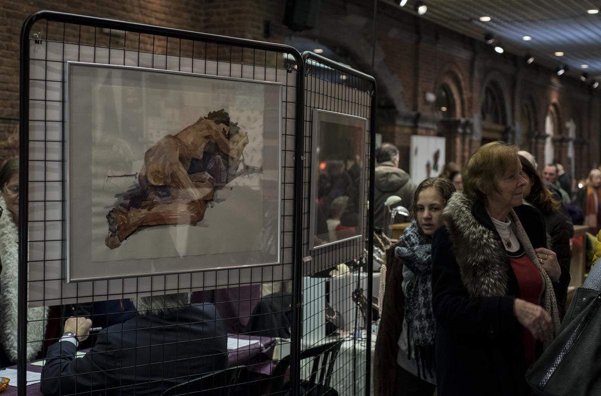 Salon des artisants d'art - Châtelet, janvier 2019