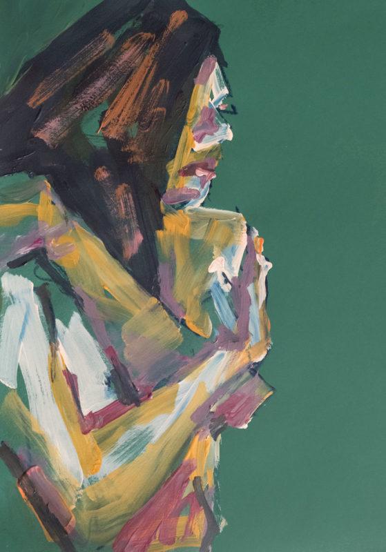 Pastel-Acrylique, Nikita, A4, 2020